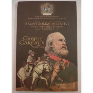 Saint Marin 2€ euros commémorative 2007 - Giuseppe Garibaldi San Marino