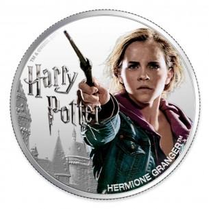 HERMIONE GRANGER Wizarding World 1 Oz Silver Coin 1$ Fiji 2020