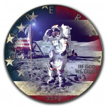 APOLLO 11 - 1 Oz Silver &...