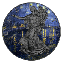 STARRY NIGHT Van Gogh 1 Oz...