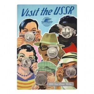 VISIT THE USSR - VINTAGE...