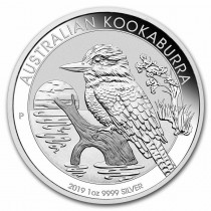 Australia $1 2019 - 1 oz Argent Kookaburra - Australie UK - 1 ONCE 999 SILVER