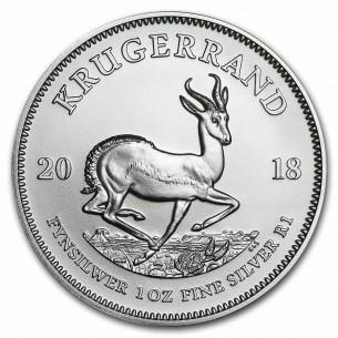 Krugerrand 2018 -  1 once argent silver .999 - South Africa 1 oz