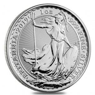 Britannia £2 livres 2019 - 1 oz Argent -  Grande Bretagne UK - 1 ONCE 999 SILVER